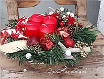 Dekorácie - adventná dekorácia - 11312046_