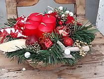 Dekorácie - adventná dekorácia - 11312062_