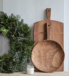 Nádoby - set 2ks - misolopár & veľký dubový lopár - 11315096_