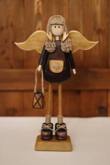 Dekorácie - Malá anjelka VI. - 11310806_