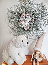 Dekorácie - vianočný veniec na dvere - 11314356_