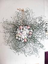 Dekorácie - vianočný veniec na dvere - 11314358_
