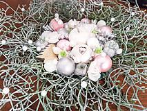 Dekorácie - vianočný veniec na dvere - 11314371_