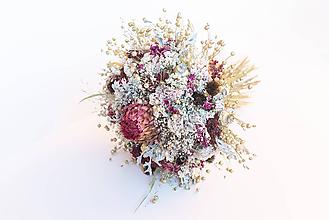 """Dekorácie - Prírodná kytica """"Zlatá zima"""" - 11312373_"""