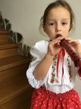 Detské oblečenie - Bluzka a suknicka - 11314906_