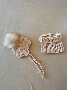 Detské čiapky - Čiapočka - 11311630_