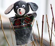 Hračky - Maňuška. Zvieratko Pes Fliačik. - 11314076_