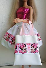 Hračky - Biela koženková kabelka pre Barbie II. - 11315201_