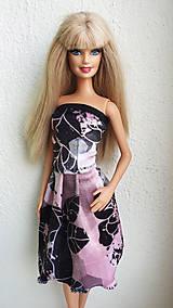 Hračky - Farebné minišaty pre Barbie - 11315549_