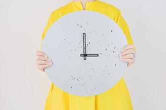 Hodiny - Betónové hodiny - PURE 40 verzia 4 - 11312780_