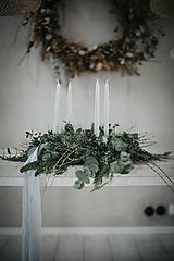 Dekorácie - Adventný veniec - 11311435_