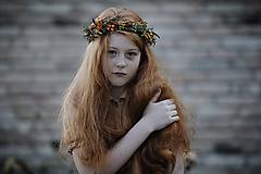 Ozdoby do vlasov - Venček pre dievčatko Noemy - 11314142_