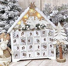 Dekorácie - Adventný kalendár - 11312940_