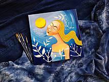 Obrazy - V noci na Jána /print na plátne/ - 11311943_