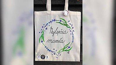 Iné tašky - ♥ Plátená, ručne maľovaná taška ♥ - 11314602_