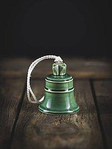 Dekorácie - Zvonek oliva - 11314141_