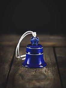 Dekorácie - Zvonek královská modř - 11314168_