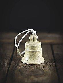 Dekorácie - Zvonek šedý - 11314431_