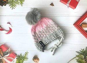 Detské čiapky - Čiapočka - 11312440_