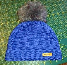 Detské čiapky - Háčkovaná čiapka - 11311009_