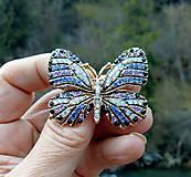 Odznaky/Brošne - Brošňa/motýľ - 11312421_