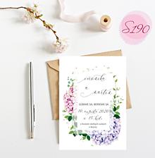 Papiernictvo - svadobné oznámenie S190 - 11312312_