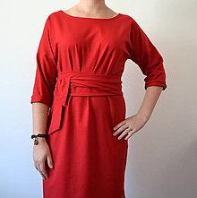 Šaty - Červené šaty Alica - 11312443_