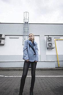 Kabáty - Kabátik blue - 11311834_