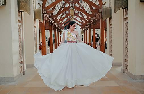 svadobné šaty Poľana