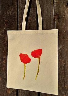 """Nákupné tašky - Taška """"makové dievčence"""" - 11313070_"""