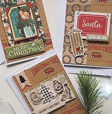 Nezaradené - Vianočné pohľadnice séria č.8 - 11312732_