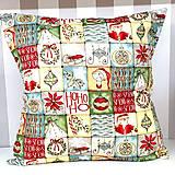 Úžitkový textil - Vankúš Vianočný - 11313392_