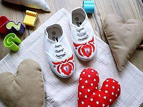 Topánočky - Detské plátenky vel. C6/23 - 11312078_