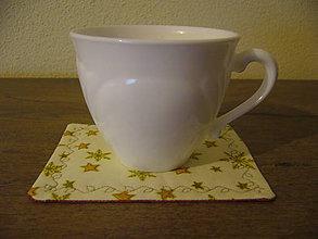 Úžitkový textil - Prestieranie pod kávičku 10x12 obojstranné - 11310828_