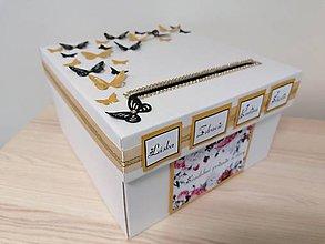 Krabičky - Wedding box - láska, zdravie, rodina, štastie 3 - 11311908_