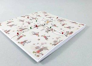 Papiernictvo - Vianočný balíček - pohľadnica/pozdrav - 11313847_