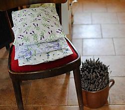 Úžitkový textil - Levanduľové vankúše s pohánkou alebo špaldou - 11311851_