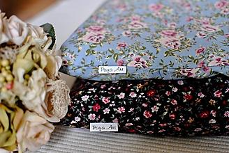 Úžitkový textil - Kvetinkové vankúše - 11311956_