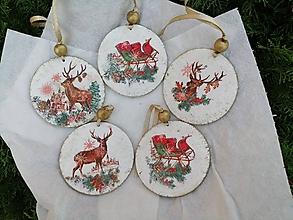 Dekorácie - vianočná sada - 11310817_
