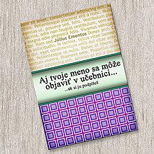 Papiernictvo - Aj tvoje meno sa môže objaviť v učebnici...(zápisník) - 11314765_