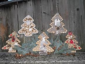 Dekorácie - Stromček - závesná dekorácia - 11319068_