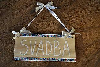 Iné doplnky - TABULA SVADBA - 11320800_