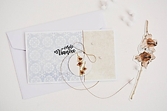 Papiernictvo - Vianočný pozdrav - zimné plody VI - 11317573_
