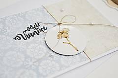 Papiernictvo - Vianočný pozdrav - zimné plody V - 11317587_