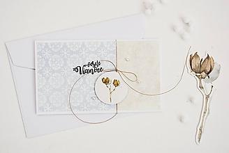 Papiernictvo - Vianočný pozdrav - zimné plody IV - 11317599_