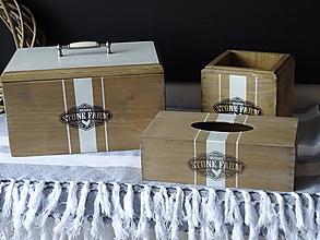Nábytok - Zásobník na servítky - 11316614_