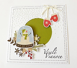 Papiernictvo - pohľadnica vianočná - 11316563_