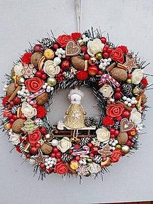 Dekorácie - Vianočný venček - 11318353_