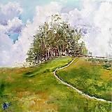 Obrazy - Na kopci - 11319509_