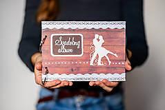 Fotoalbum folk svadobný * kniha hostí A5
